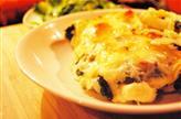 Blette gratinée au fromage