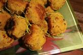 Boulettes de lentilles au citron vert, au pavot et aux épices