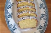 Cake au citron, à la polenta et aux amandes