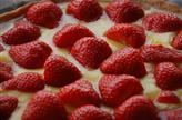 Croute aux fraises