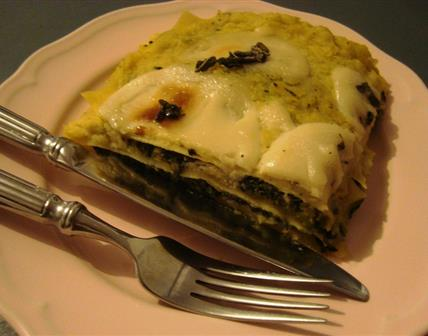 Lasagne à la courge butternut