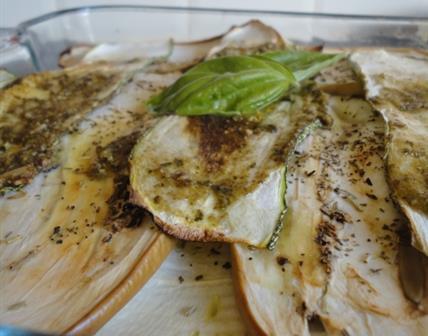 Lasagne courgette/aubergine