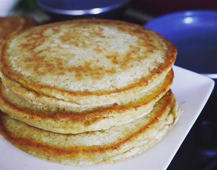 Pancakes Fluffy sans oeufs