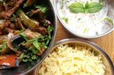 Petit thali improvisé