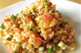 Salade blé et lentilles