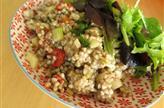 Salade de sarrasin aux herbes et légumes