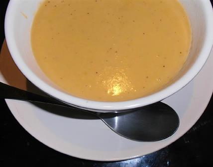 Velouté de butternut & beurre de cacahuète